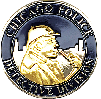 Chicago Police Detectives Issues Sherlock Holmes Challenge Coin