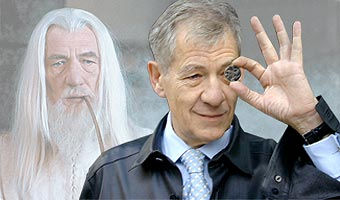 Gandalf Ian and coin