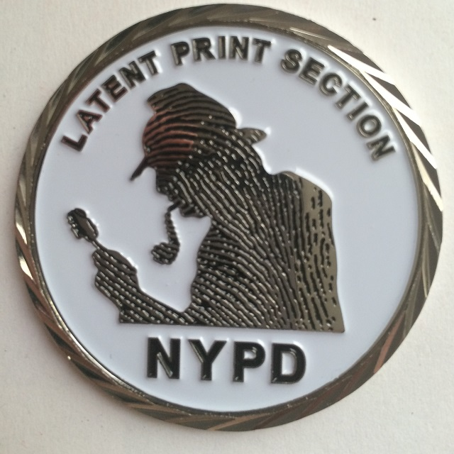 Sherlock Holmes Featured on NYPD Challenge Coin