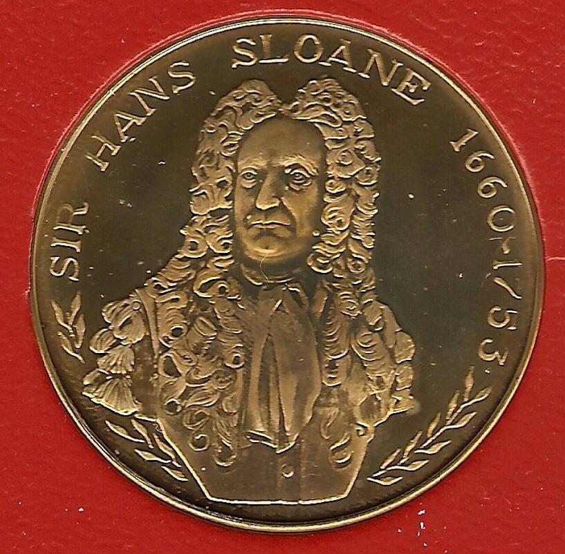 Numismatic Tributes of Hans Sloane