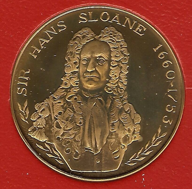 Numismatic Tributes of Hans Sloane
