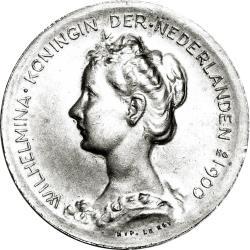 Wilhelmina Medal Obv