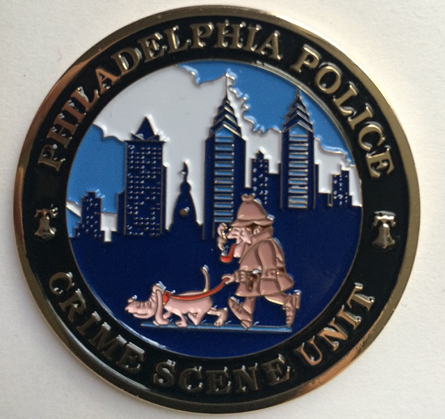 Philadelphia Police Issue Challenge Coin Featuring Holmes and Toby