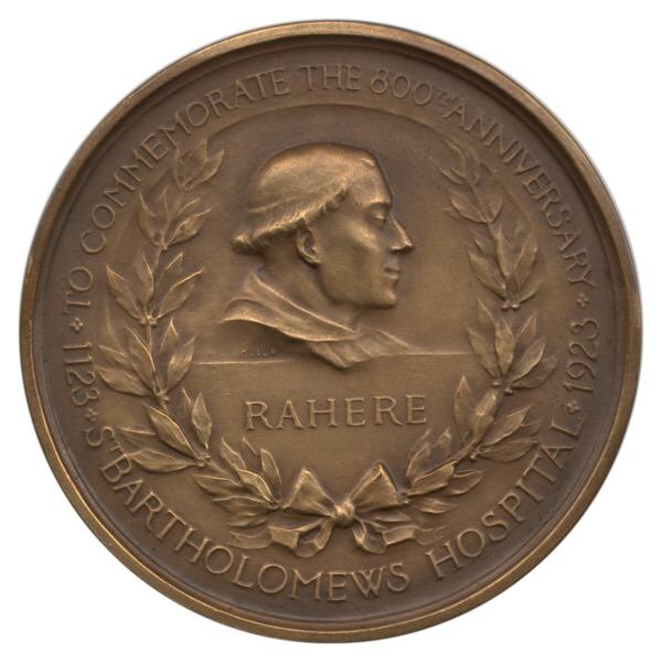 Medals of St. Bartholomew's Hospital