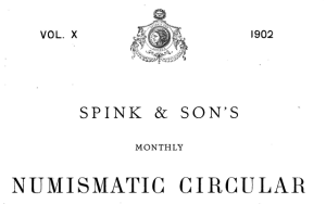 Spink 1902 Cover