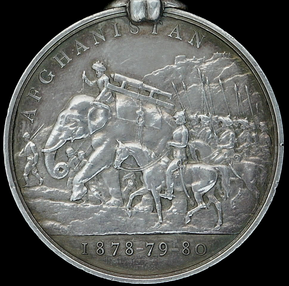 The British Afghanistan Campaign Medal