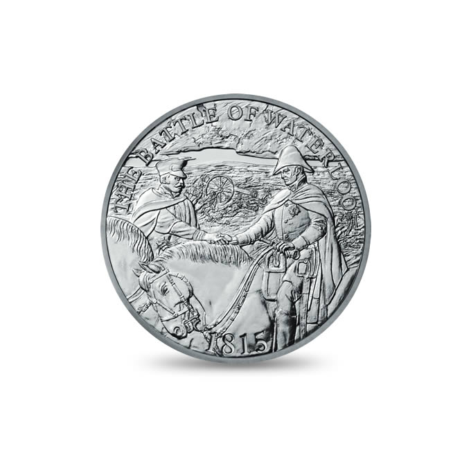 2015 Coins & Medals Commemorating The Battle Of Waterloo