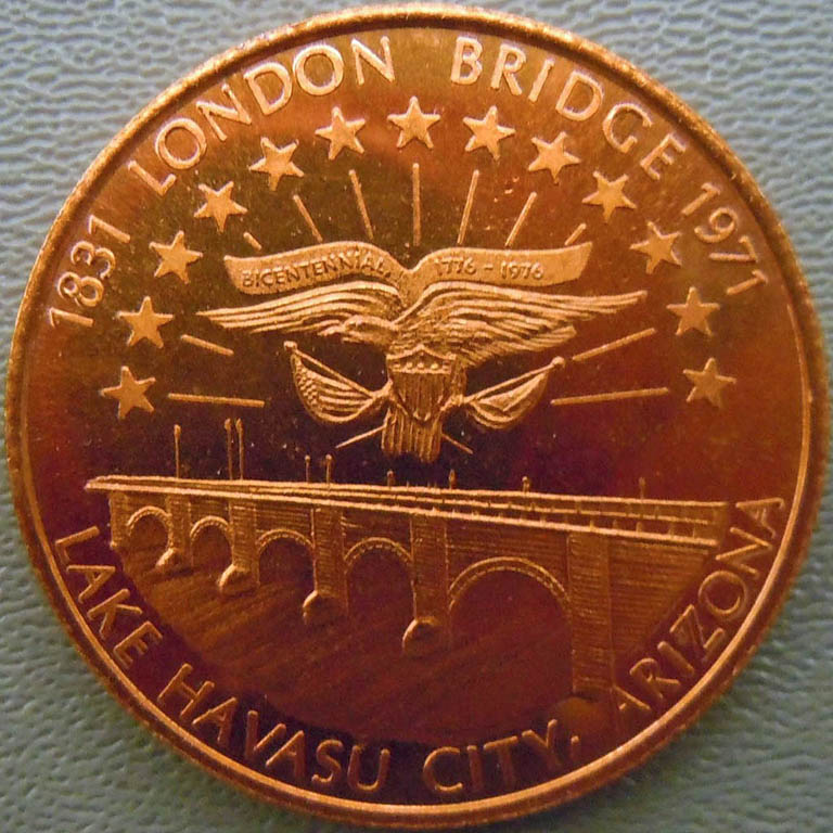 Some Medallic Remembrances of London Bridge
