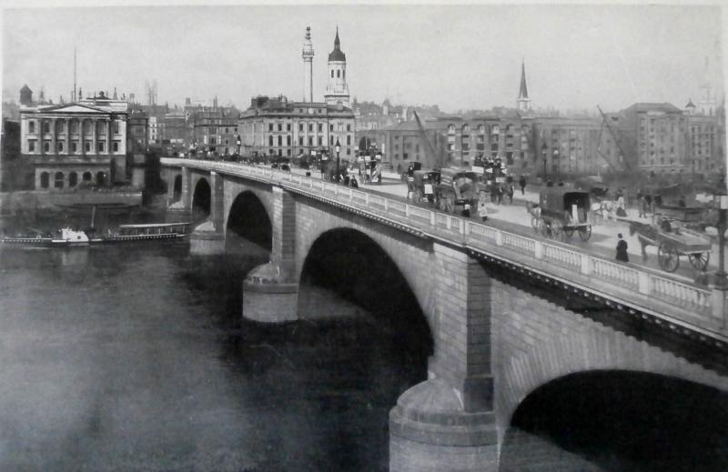 London Bridge, circa 1890