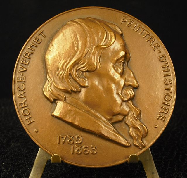 Another Portrait Medal Of Vernet