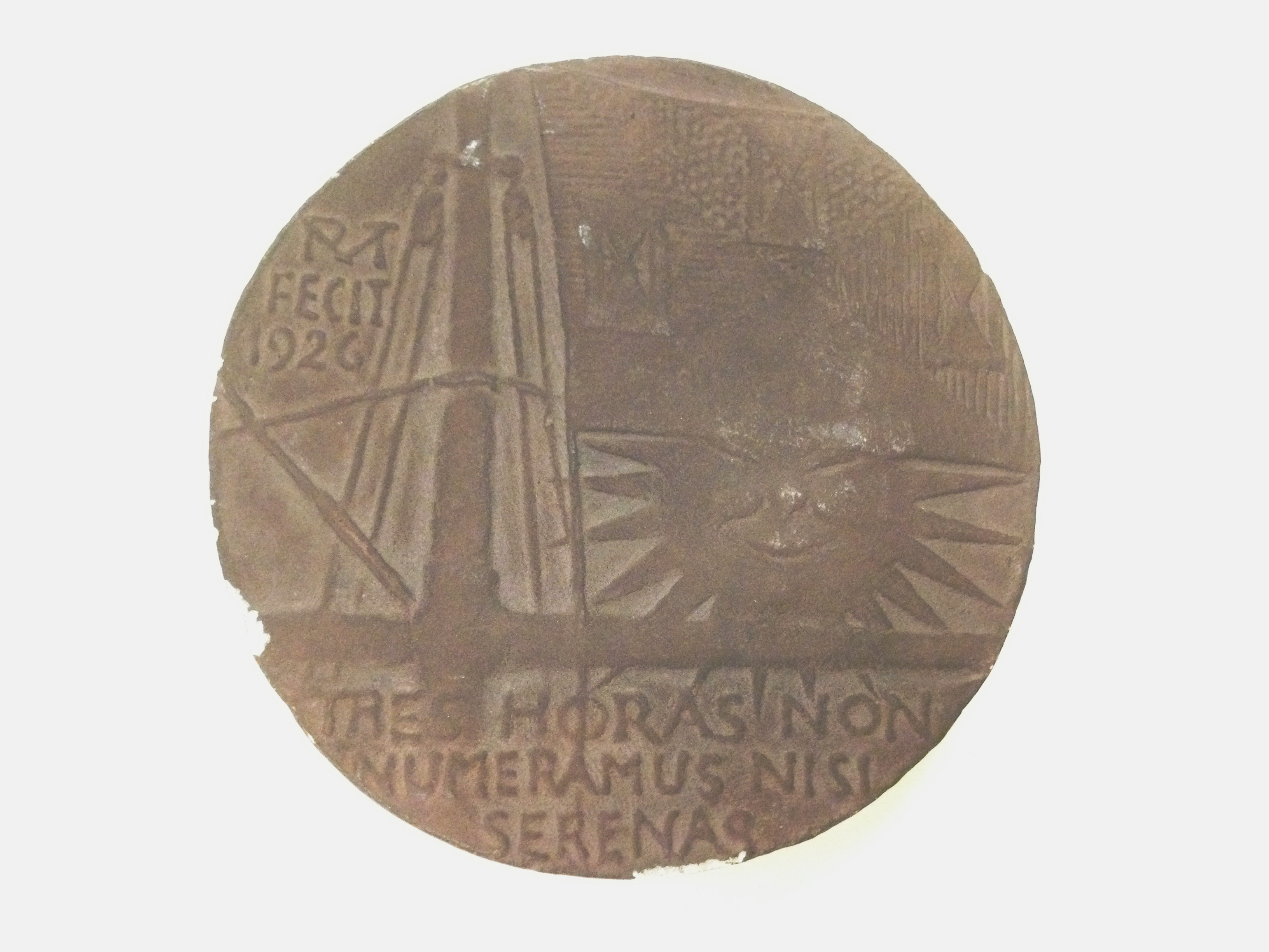 Christopher Morley and The Three Hours For Lunch Club Medal