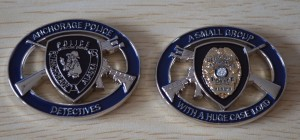 Anchorage PD Challenge Coin #3
