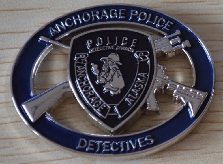 Oops, I Did It Again! Anchorage Police Issue Third Sherlockian Challenge Coin