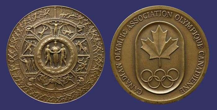 COC Shield of Athletics Medal