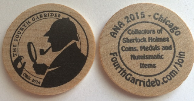 TFG Issues Wooden Nickel for 2015 ANA World's Fair of Money