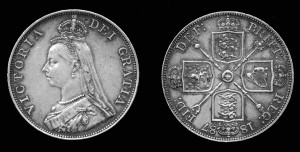 1887 British Double Florin