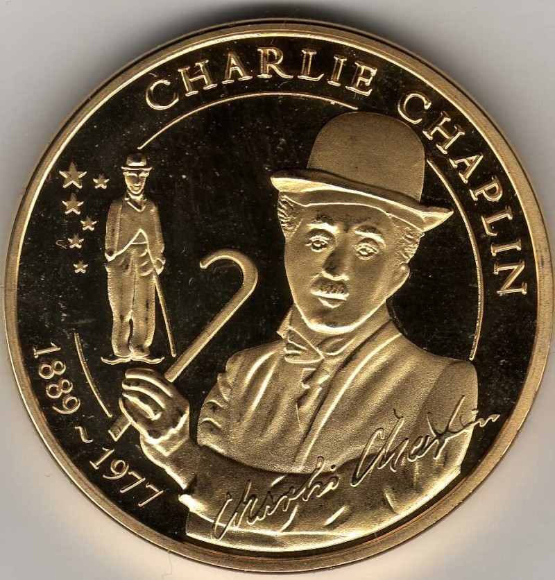 Select Numismatic Remembrances of Charlie Chaplin