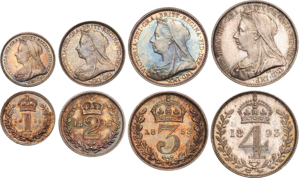 Victoria Maundy Coinage