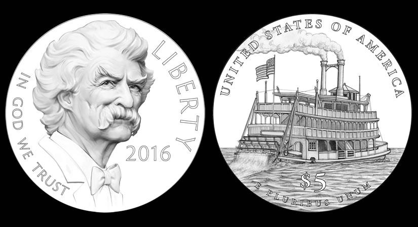 2016 Twain $5