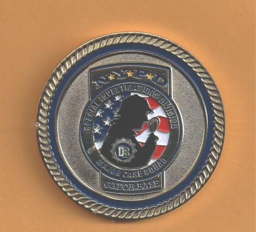 Sgt. Buddy Murnane's Sherlock Holmes Themed Challenge Coin