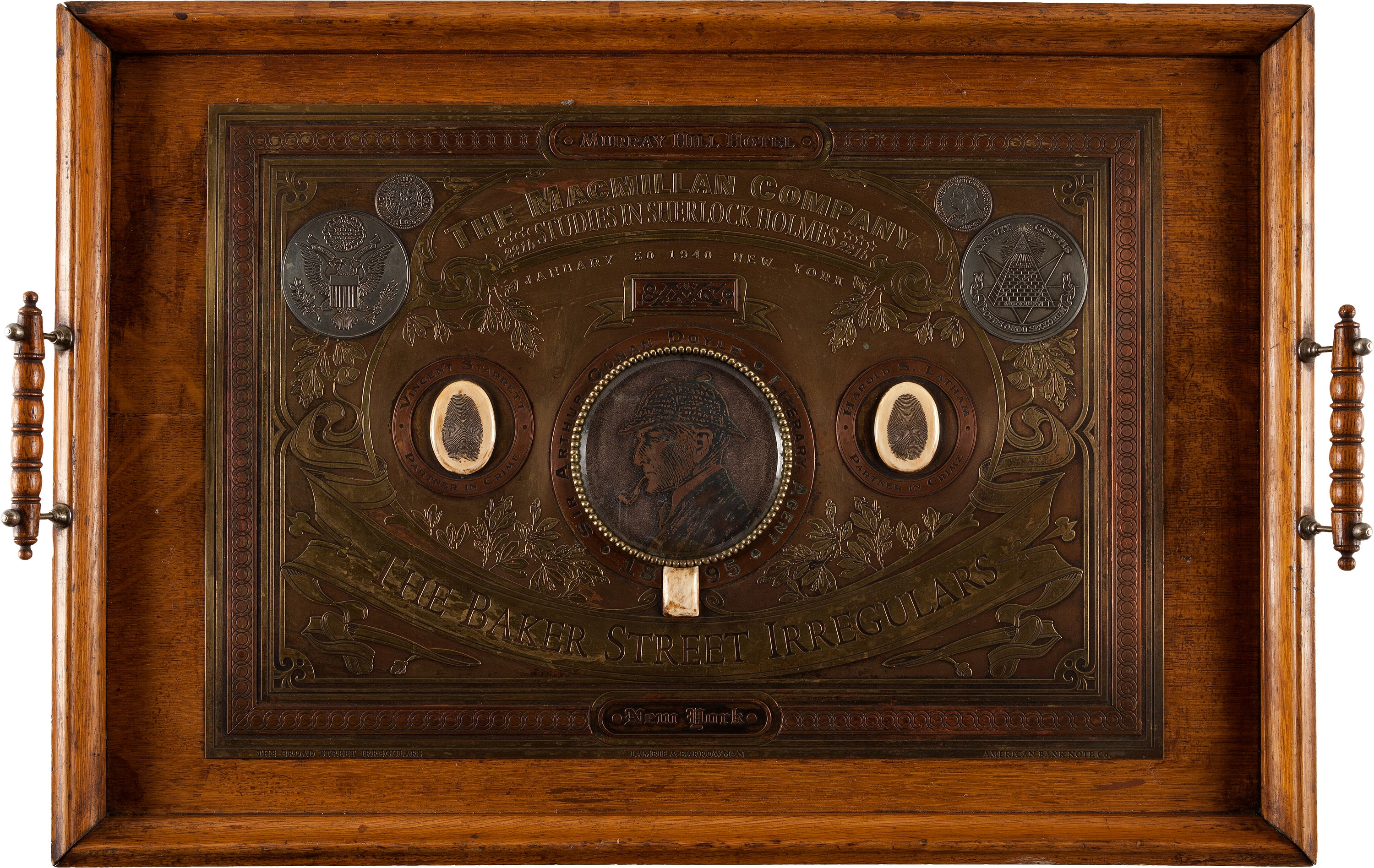 Heritage Auctions' October 8, 2014 Auction Lot Descriptions of Two Irregular Plates