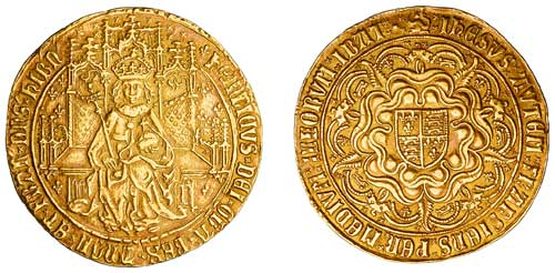 Sovereign. Henry VII. 1485-1509