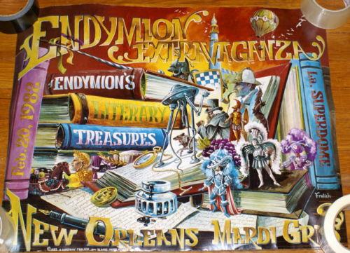 1982 Mardi Gras Endymion Poster