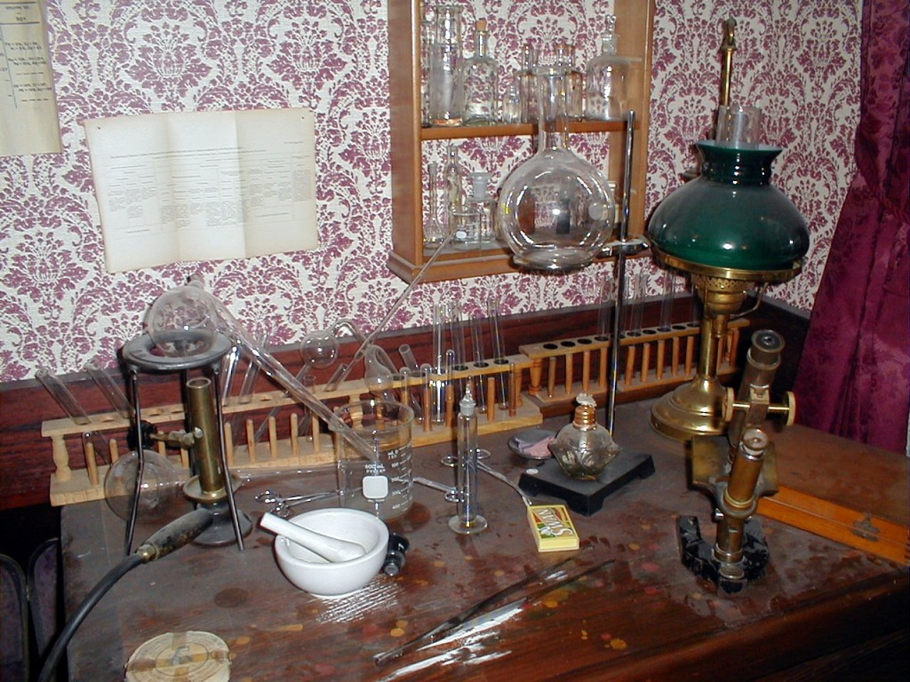 The Chemical Table ~ 221B in Reading