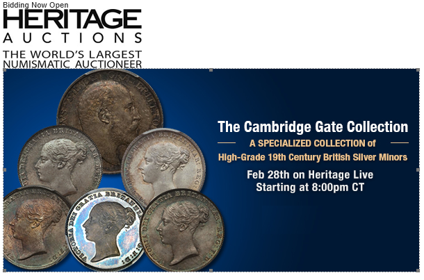 Heritage to Auction the Cambridge Gate Collection