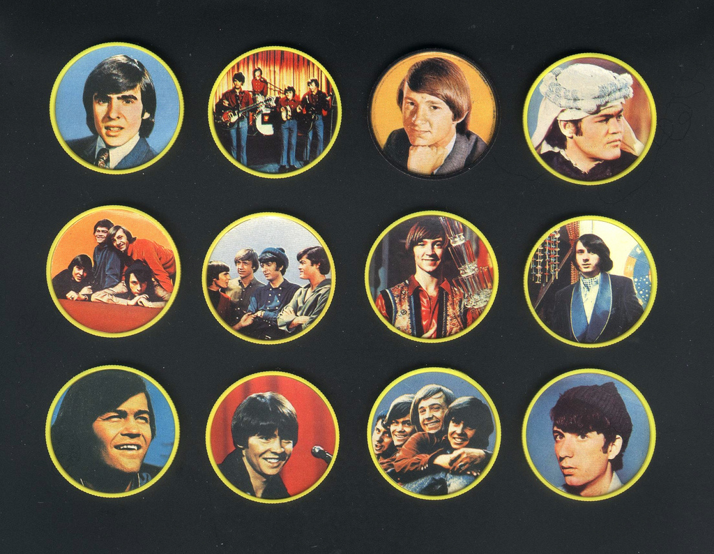 Monkees Picture Coins