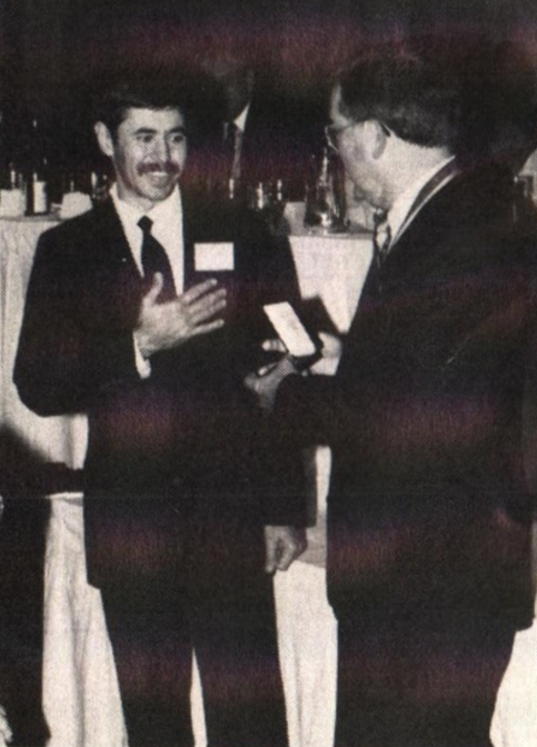 Shagin Recognized for Medallic Achievements (1990)