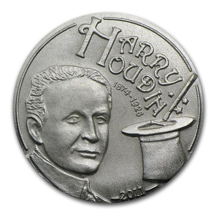 Medallic Tributes to Harry Houdini