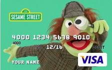 Sherlock Hemlock Featured on Two Prepaid Debit Cards