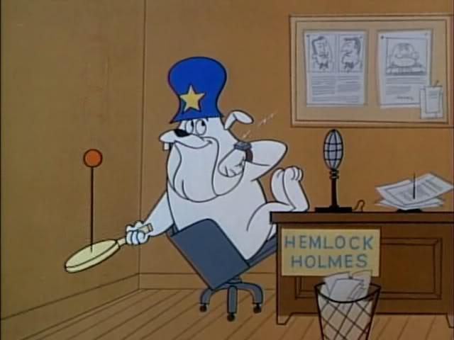 Dick Tracy, Hemlock Holmes and Funny Money