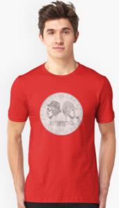 Redbubble Sherlock Shilling Shirt