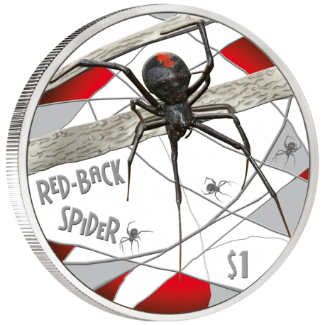 Spiders on Coins