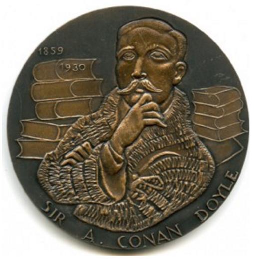 The 1978 Arthur Conan Doyle Medal by the Monnaie de Paris