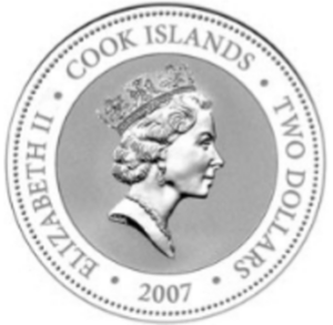 2007 Cook Islands OBV