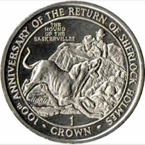 Gibraltar's 1994 Hound of The Baskervilles Crowns