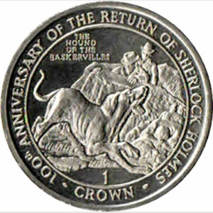 Gibraltar's 1994 Hound of The Baskervilles Crowns