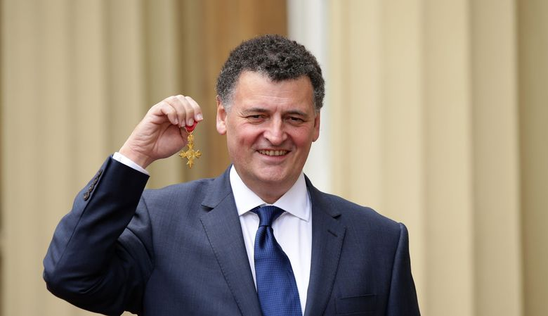 Steven Moffat Receives OBE Honor