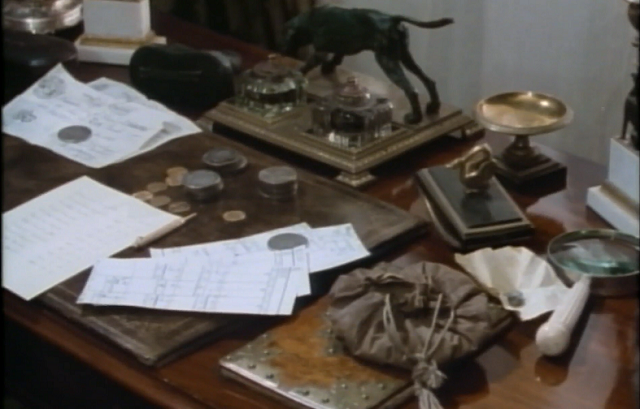 The Coins on Ronald's Adair Desk
