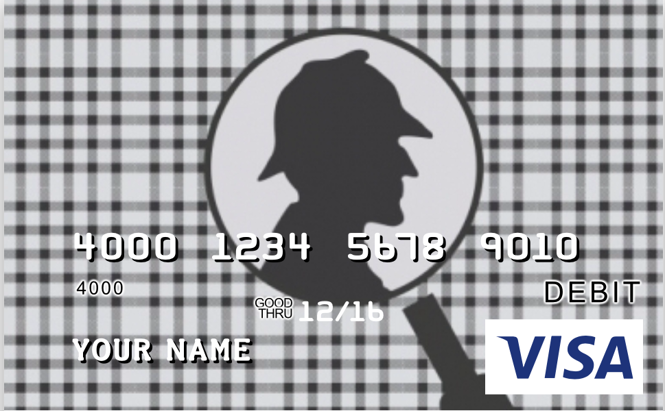 Another Sherlockian Pre-Paid Debit Card Option