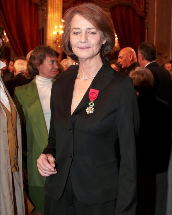 Charlotte Rampling with LOH