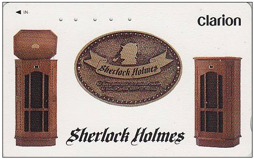 Clarion's Sherlock Holmes Phone Card