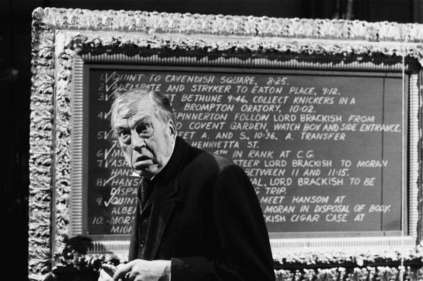 Faces of Moriarty: John Huston