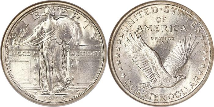 1916 standing quarter