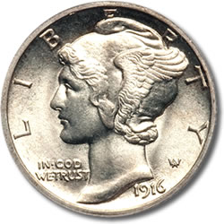 100 Years Ago: The New 1916 United States Coinage
