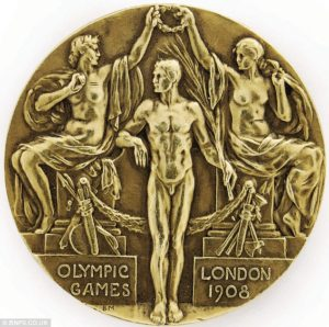 1908 Olympic Gold