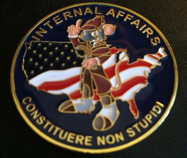 The FDA Internal Affairs Challenge Coin